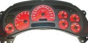2003-2005 Cadilpac Escalade Gauge Face Us Speedo Cadillac Gauge Face Ss1200545 03 04 05