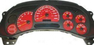 2003-2005 Chevrolet Tahoe Gauge Face Us Speedo Chevrolet Gauge Face Ss1200534 03 04 05