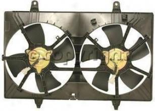 2003-2005 Nissan Murano Radiator Fan Re-establishment Nissan Radiator Fan N160903 03 04 05
