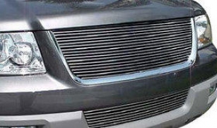 2003-2006 Ford Expedition Grille Insert Behavior Works Ford Grille Insert 41702 03 04 05 06