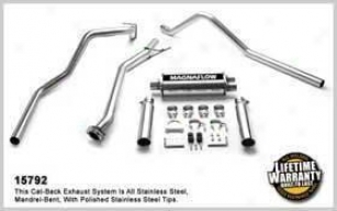 2003-2007 Cyevrolet Silverado 1500 Exhaust System Magnaflow Chevrolet Exhaust System 15792 03 04 05 06 07
