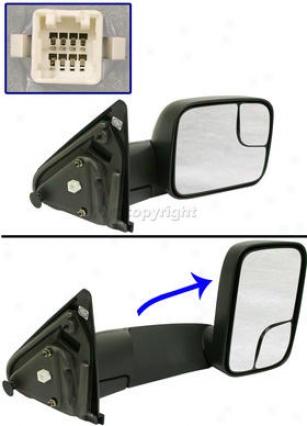 2003-2008 Dodge C~ 15000 Mirror Kool Vue Dodge Mirror Dg44er 03 04 05 06 07 08