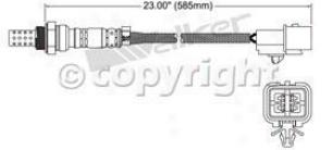 2004-2005 Mitsubishi Galant Oxygen Sensor Walker Products Mitsubishi Oxygen Sensor 25024239 04 05
