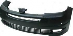 2004-2005 Toyota Sienna Bumper Co\/er Replacement Toyota Bumper Cover T010340p 04 05
