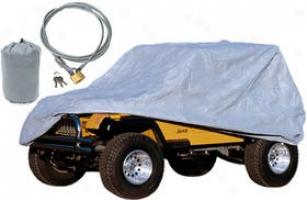 2004-2006 Jeep Wrangler Car Cover Rugged Extended elevation Jeep Car Cover 13321.72 04 05 06