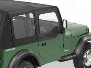 2004-2006 Jeep Wrangler Door Skin Cloth Bestop Jeep Door Skin Cloth 53121-1 04 05 06