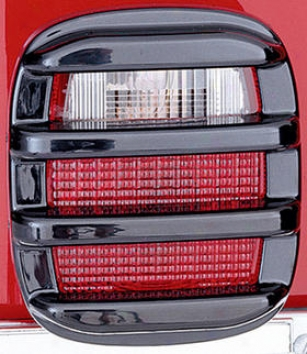 2004-2006 Jeep Wrangler Tail Light Guard Rugged Ridge Jeep Tail Light Guard 11354.02 04 05 06
