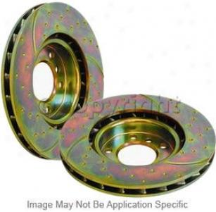 2004-2008 Chrysler Crossfire Brake Disc Ebc Chrysler Brake Disc Gd893 04 05 06 07 08