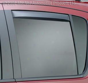 2004-2008 Nissan Mazima Vent Visor Weathertech Nissan Crenelle Visor 81335 04 05 06 07 08