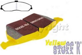 2004-2009 Cadillac Xlr Brake Pad Set Ebc Cadillac Brake Pad Set Dp41162r 04 05 06 07 08 09