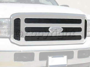 2005-2006 Ford F-450 Super Duty Be quartered Grille Replacemsnt Ford Billet Grille Pr-604276 05 06