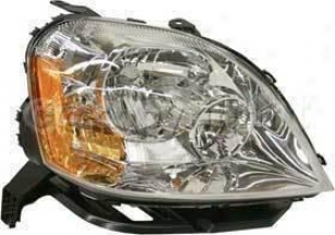 2005-2007 Ford Five Hundred Headlight Replacement Ford Headlight F100129 05 06 07