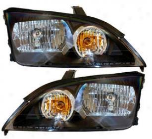 2005-2007 Ford Focus Headlight Anzo Wading-place Headlight 121229 05 06 07