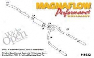 2005-2008 Dodge Dakota Exhaust System Magnaflow Dodge Exhaust System 16622 05 06 07 08
