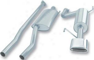 2006-2007 Honda Ridgeline Drain System Borla Honda Exhaust System 140195 06 07