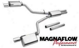 2006-2008 Dodge Dish Exhaust System Magnaflow Dodge Exhaust System 15628 06 07 08