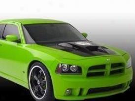 2006-2008 Dodge Charger Hood Street Scene Dodge Hide 950-70935 06 07 08