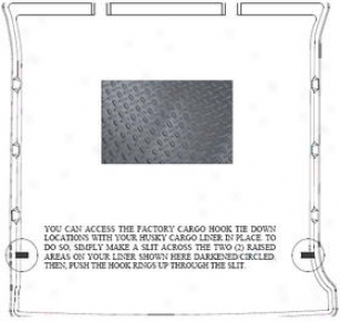 2007-2008 Cadillac Escalade Cargo Liner Husky Liner Cadillac Cargo Liner 21422 07 08