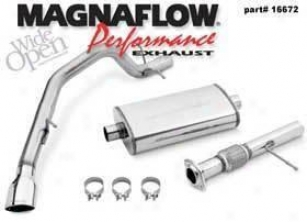 2007-2008 Chevrolet Tahoe Exhaust System Magnaflow Chevrolet Exhaust System 16672 07 08
