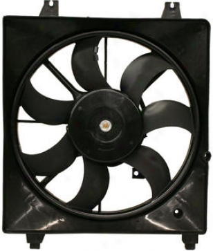 2007-2008 Hyundai Santa Fe Radiator Use a ~ upon Replacement Hyundai Radiator Fan H160940 07 08
