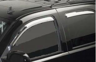 2007-2008 Hyundai Santa Fe Vent Visor Putco Hyundai Discharge Visor 480160 07 08