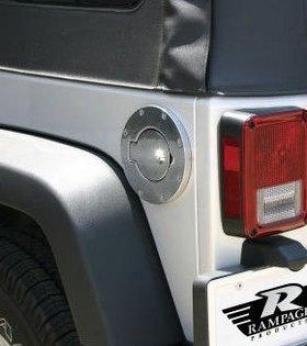 2007-2008 Jeep Wrangler Fuel Door Rampage Jeep Fuel Door 85001 07 08
