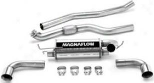 2007-2008 Pontiac Solstice Exhaust System Magnaflow Pontiac Exhaust System 16645 07 08