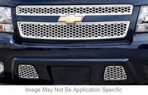 2007-2009 Chevrolet Tahoe Grille Insert Carriage Works Chevrolet Grille Insert 37056 07 08 09