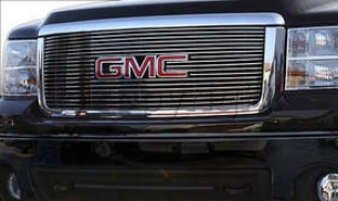 2007-2009 Gmc Sierra 1500 Grille Insert Carriage Works Gmc Grille Insert 43582 07 08 09
