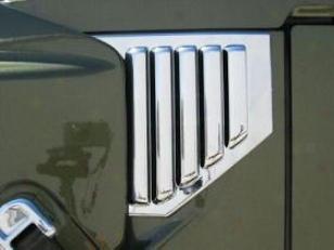 2007-2009 Hummer H2 Hood Vents Putco Hummer Hood Vents 403408 07 08 09