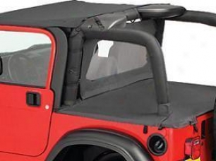 2007-2009 Jeep Wrangler Wind Screen Bestop Jeep Wind Screen 80031-35 07 08 09