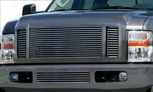 2008-2009 Ford F-250 Super Duty Grille Insert Carriage Works Ford Grille Insert 43902 08 09