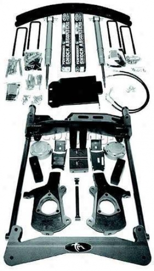 2008 Chevrolet Silverado 1500 Suspension Lift Kit Trailmaster Chevrolet Delay Raise Outfit C4721ssv 08