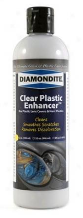 12 Oz. Diamondite Clear Plastic Enhancer