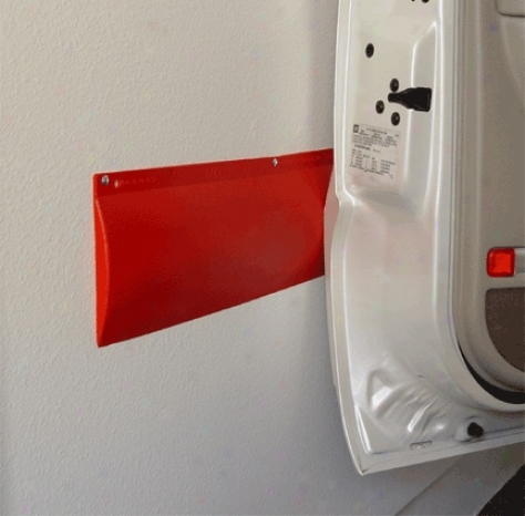 12 Pack  Park Smart Wall Guard - Red