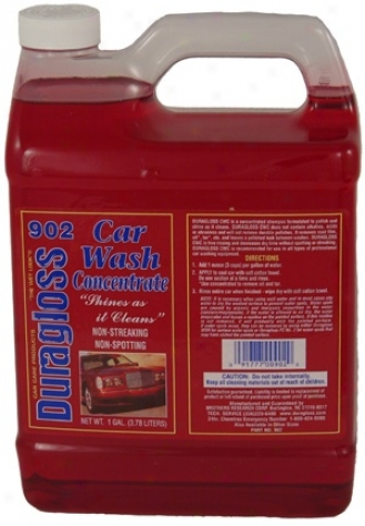 128 Oz. Duragloss Car Wash Boil down (cwc) #902