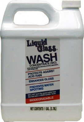 128 Oz. Liquid Glass� Wash Concentrate