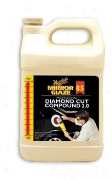 128 Oz. Meguiars Mirror Glaze #85 Rhombus Path Compound 2.0