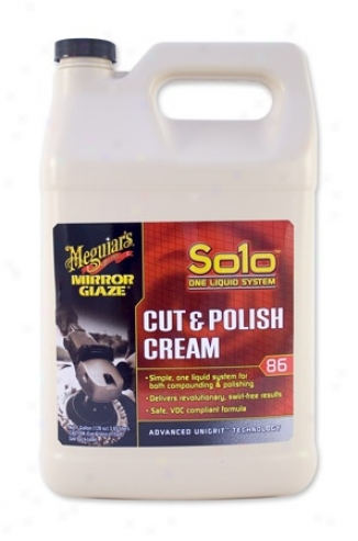 128 Oz. Meguiars Solo Cut & Polish Cream #86