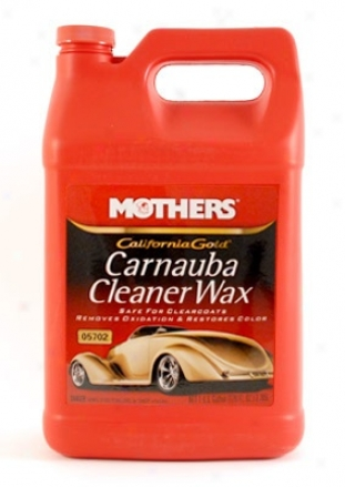 128 Oz. Mothers Original Formula Carnauba Cleaner Wax