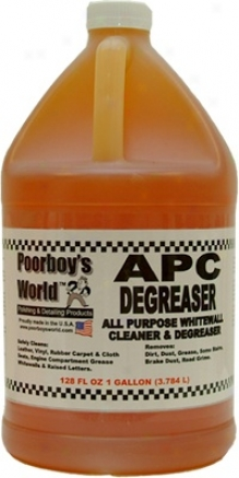 128 Oz. Poorboy?s World Bio-degradable All Purpose Whitewall Cleane And Degreaser