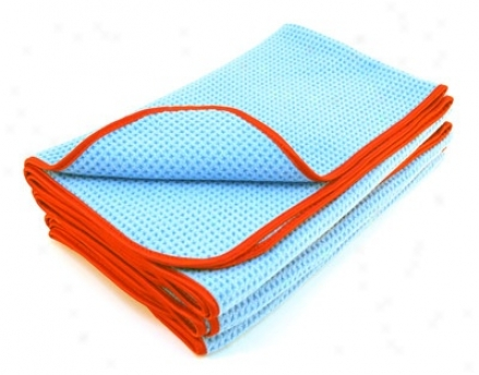 3 Pack Blu Waffle Weave Drying Towels, 24 X 29 Inches