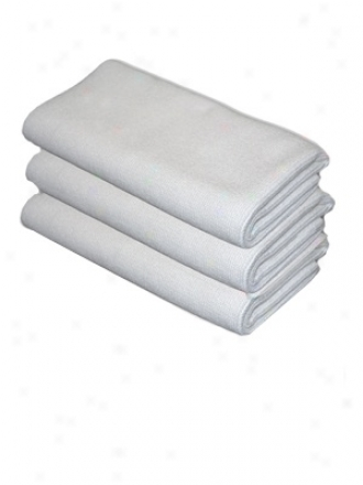 3 Pack Cobra Arctic White Edgeless Microfiber Polishing Cloths
