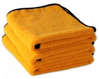 3 Pack Cobra Gold Plush Xl Microfiber Towels, 25 X 36 Inches