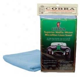 3 Pack Cobra Waffle Weave Microfiber Glass Towels