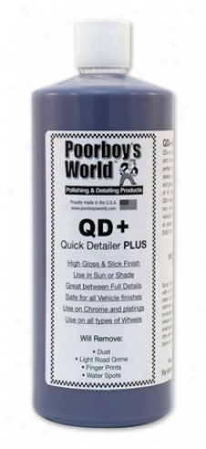 32 Oz. Poorboy?s World Quick Detailer Plus