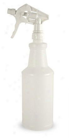 32 Oz.  White Spray Bottle
