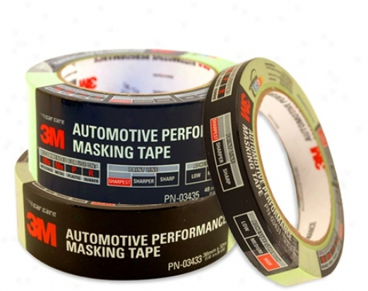 3m Automotive Composition Masking Tape 3 Pack