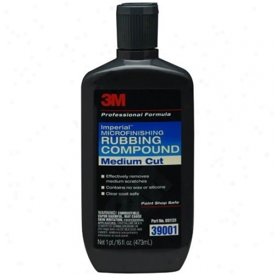 3m Imp3rial Microfinishing Rubbing Compound 16 Oz.