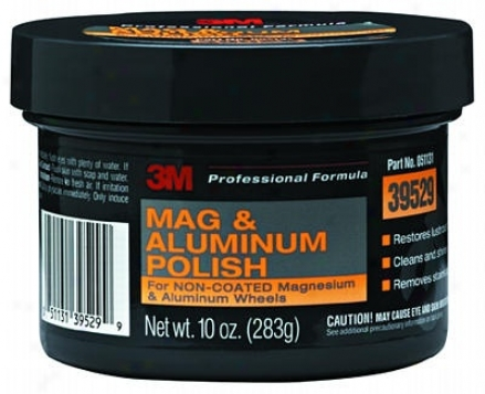 3m Mag And Aluminum Polish 10 Oz.
